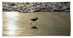 Sand Piper Dash Beach Towel
