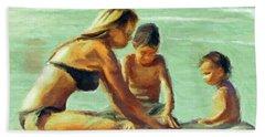 Sand Play Beach Towel