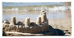 Sandcastle  Beach Towel