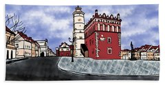 Sandomierz City Beach Towel