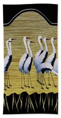 Sandpipers II Beach Towel