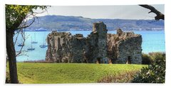 Sandsfoot Castle With Portland Beach Towel