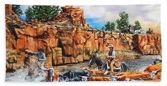 Sandstone Crossing Beach Sheet by Ruanna Sion Shadd a'Dann'l