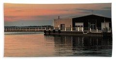 Sandusky Bay Reflections 3 Beach Sheet by Shawna Rowe