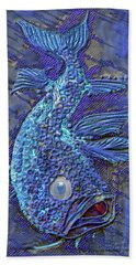 Sandy Fish Beach Towel