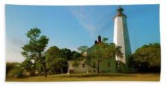 Sandy Hook Lighthouse Beach Sheet