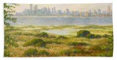 Sandy Hook View Beach Towel