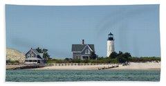 Sandy Neck Light Early June Beach Sheet