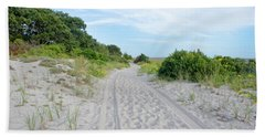Sandy Neck Marsh Trail Beach Towel