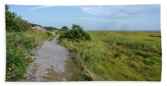 Sandy Neck Trail Beach Towel