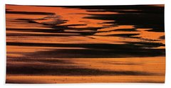 Sandy Reflection Beach Towel