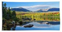Sandy Stream Pond Baxter Sp Maine Beach Towel by Michael Hubley