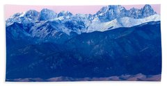 Sangre De Christo And The Great Sand Dunes National Park Beach Towel