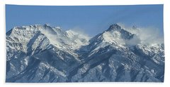 Sangre De Cristo Fourteeners Beach Towel