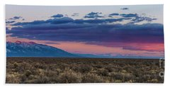 Sangre De Cristo Sunset Beach Towel