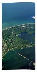 Sanibel Island, Fl Beach Sheet by Skip Willits