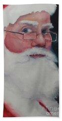 Santa 2016 Beach Towel