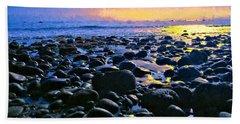 Santa Barbara Beach Sunset California Beach Sheet