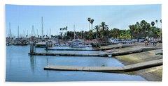 Santa Barbara Marina Beach Towel