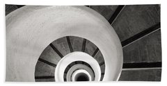 Santa Catalina Spiral Staircase Beach Sheet