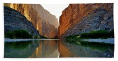 Santa Elena Canyon Beach Towel