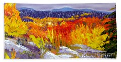 Santa Fe Aspens Series 1 Of 8 Beach Towel