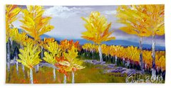Santa Fe Aspens Series 3 Of 8 Beach Towel