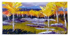Santa Fe Aspens Series 4 Of 8 Beach Towel