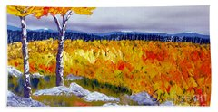 Santa Fe Aspens Series 7 Of 8 Beach Towel