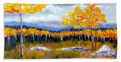 Santa Fe Aspens Series 8 Of 8 Beach Towel