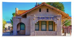 Santa Fe Station Beach Towel by Stephen Anderson