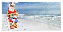 Santa Lifeguard Beach Sheet
