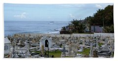 Beach Towel featuring the photograph Santa Maria Magdalena De Pazzis Cemetery, Old San Juan by Lois Lepisto