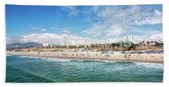 Santa Monica Beach Beach Sheet