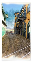 Santa Monica Pier Ver 3 Beach Towel