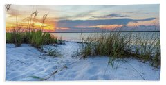 Santa Rosa Sound Sunset Beach Towel