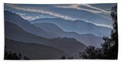 Santa Ynez Mountains Beach Sheet