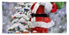 Santa's Helpers Beach Towel