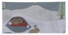 Santa's Ultimate Gift Beach Towel
