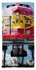 Beach Towel featuring the photograph Sante Fe Railway by Kyle Hanson