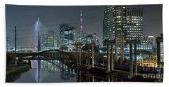 Sao Paulo Bridges - 3 Generations Together Beach Sheet