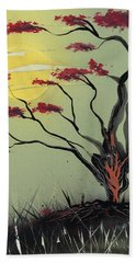 Sapling Beach Towel