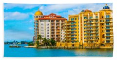 Sarasota Architecture Beach Towel