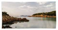 Sardinian Coast I Beach Sheet by Yuri Santin