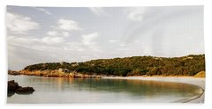 Beach Towel featuring the photograph Sardinian View by Yuri Santin