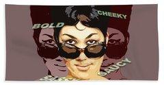 Sassy Soul Queen Aretha Franklin Beach Sheet