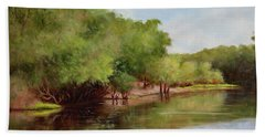 Satilla River Beach Towel