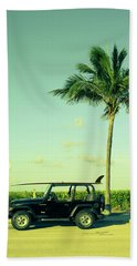 Beach Towel featuring the photograph Saturday by Laura Fasulo