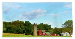 Sauer Farm, Mt. Marion Beach Towel