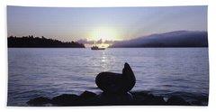 Sausalito Morning Beach Towel
